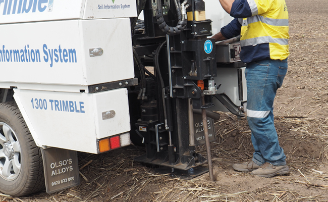 Trimble Ag Soil Information System (Bodeninformationssystem)